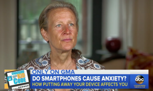 GOOD MORNING AMERICA: Cellphones and Anxiety