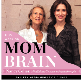 MOM BRAIN Podcast with Hilaria Baldwin and Daphne Oz: Mindfulness, Parenting and Technology (October, 2019)